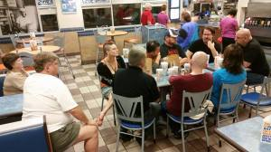 The great ArmCast Podcast session at White Castle during Imaginarium 2015.